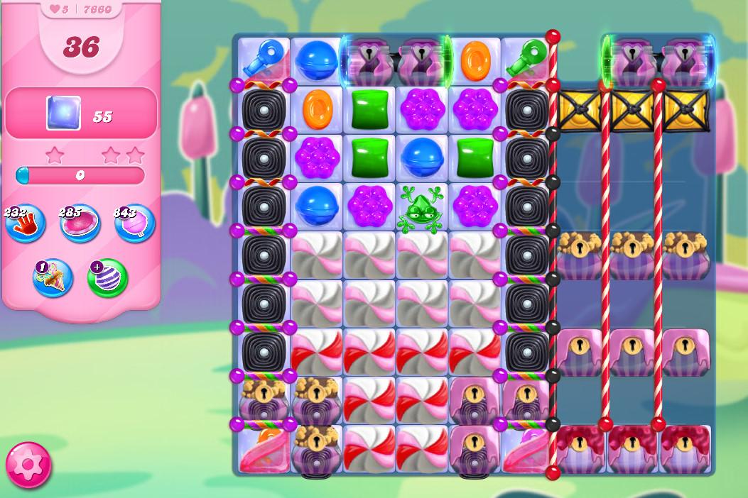 Candy Crush Saga level 7660