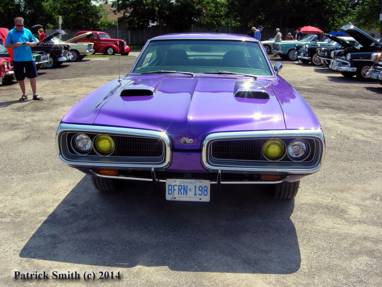 1970 Dodge Super Bee: Plum Crazy Purple People Eater