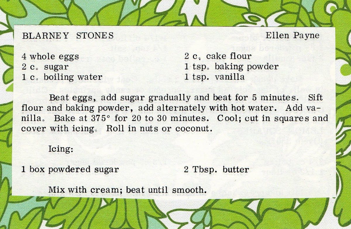 Blarney Stones (quick recipe)