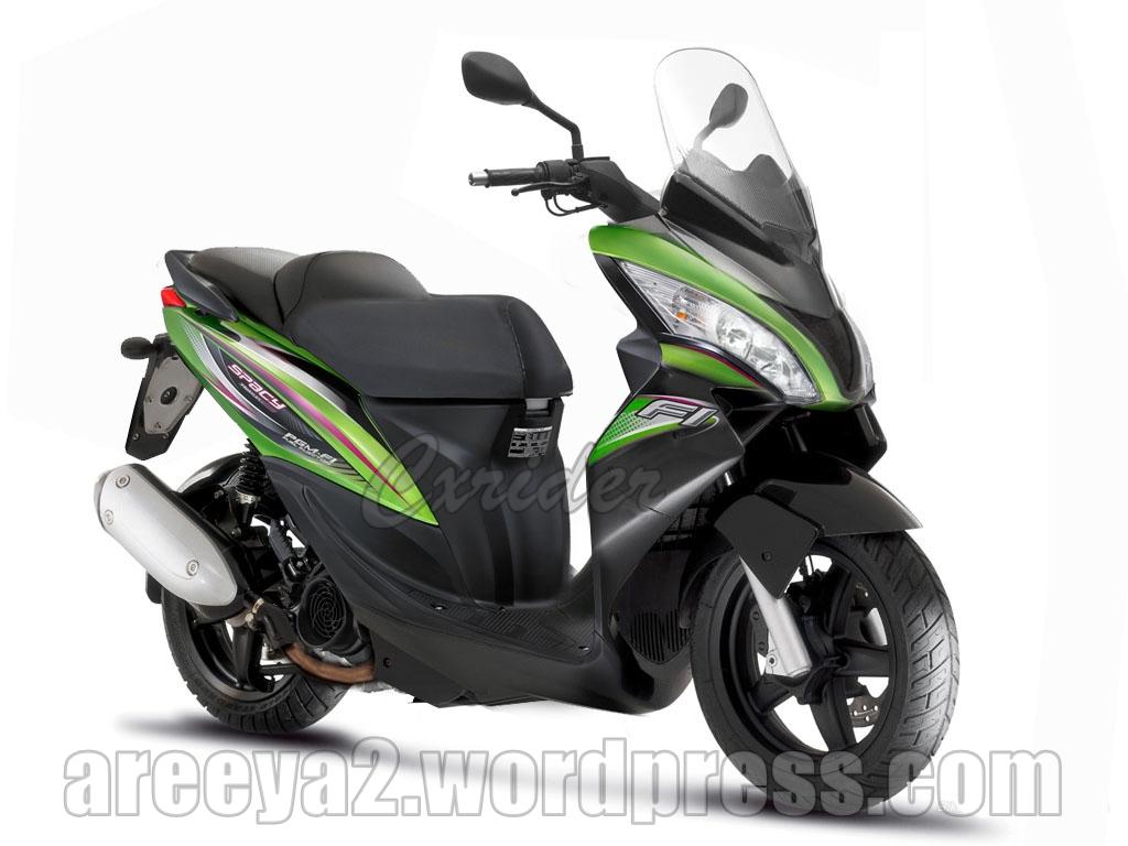 Foto Modifikasi Motor Honda Spacy Uring Terbaru