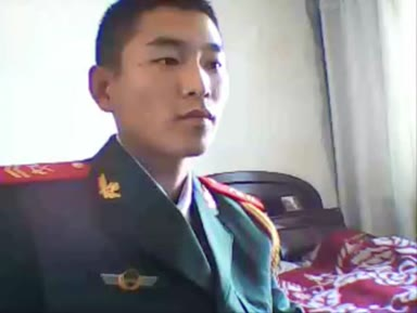 Gay Asian │ Army hot jerking on cam