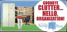 scrapbook storage organizers