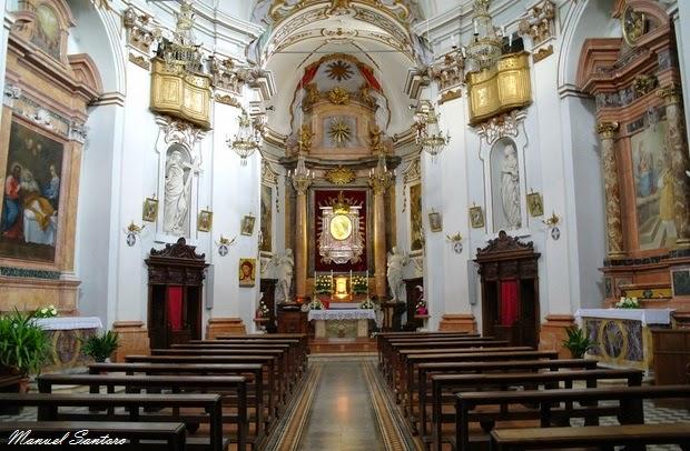 Norcia, chiesa della Madonna Addolorata