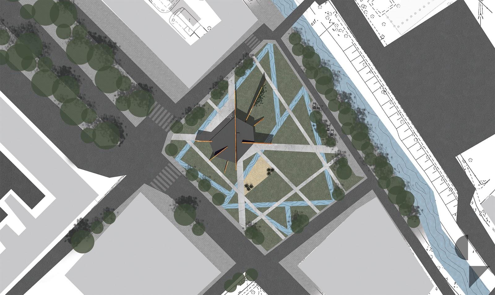 projekt koncepcyjny architektury informacji turystyczne oraz urbanistyka parku