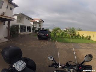 Garagem do hotel em Cruz das Almas/BA.