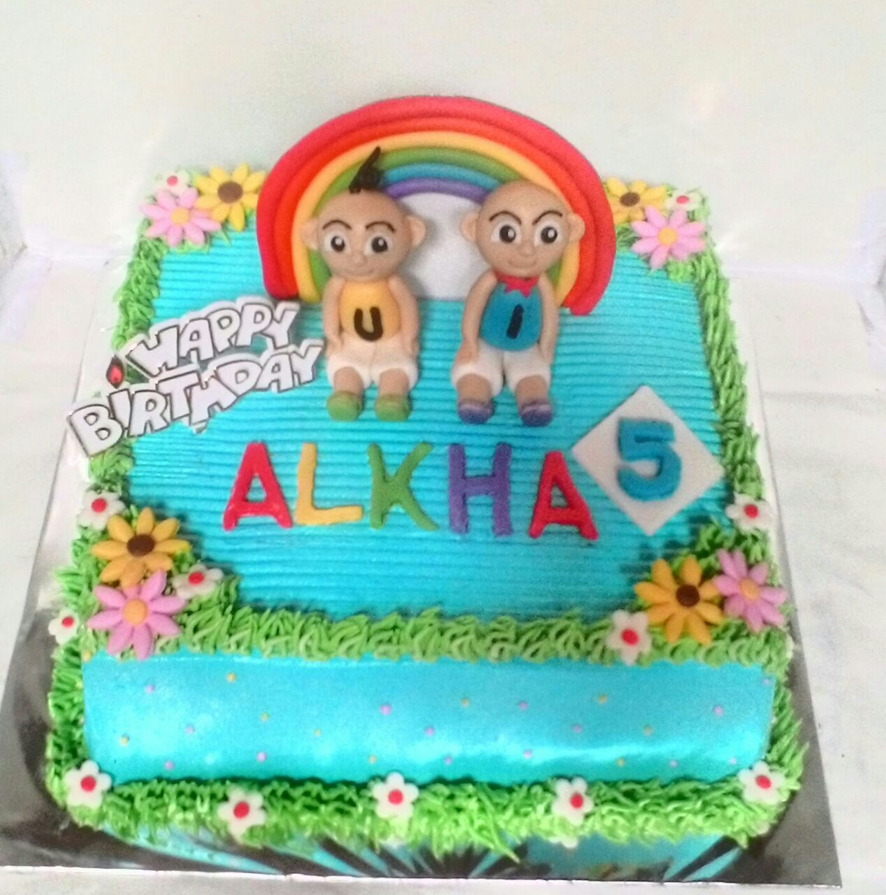 Kue Tart Ultah Upin Ipin Toko Kue Padang 0812 6102 8068