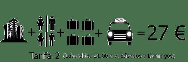 Precio del taxi al Aeropuerto Sevilla