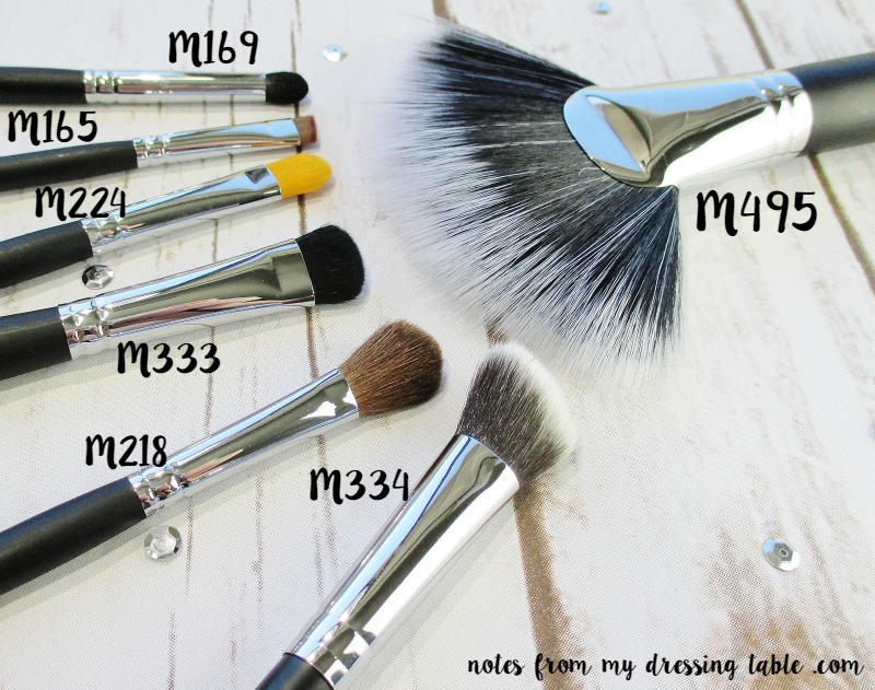 Morphe/Live Glam Makeup Brush Subscription - February - Review - notesfrommydressingtable.com