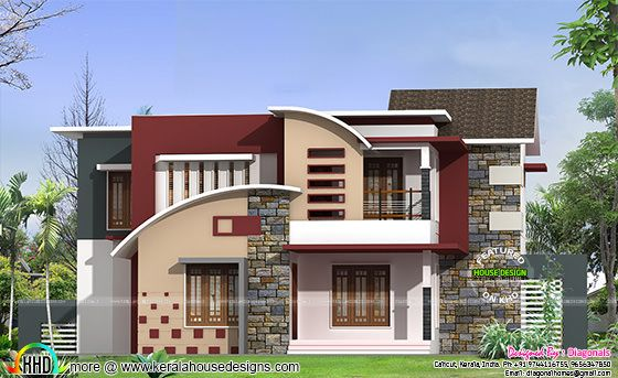 2422 square feet 4 bedroom modern home