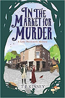 In the Market for Murder by T E Kinsey (Book cover)