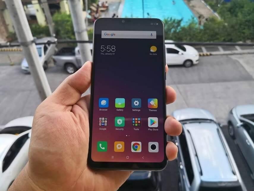 Xiaomi Mi 8 Lite Front
