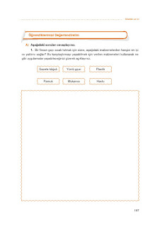 7. Sınıf Matematik Ders Kitabı Cevapları Koza Sayfa 187