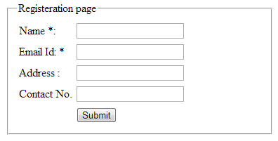 Create registration form and send confirmation email to new