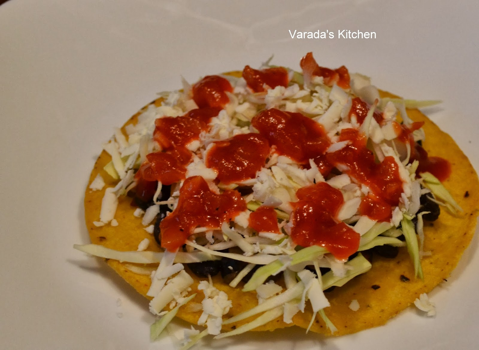 Varada's Kitchen: Honduran Enchiladas