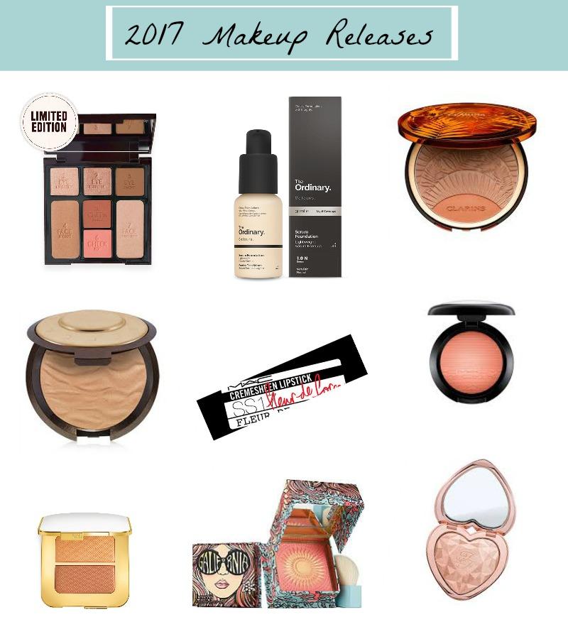 2017 makeup releases