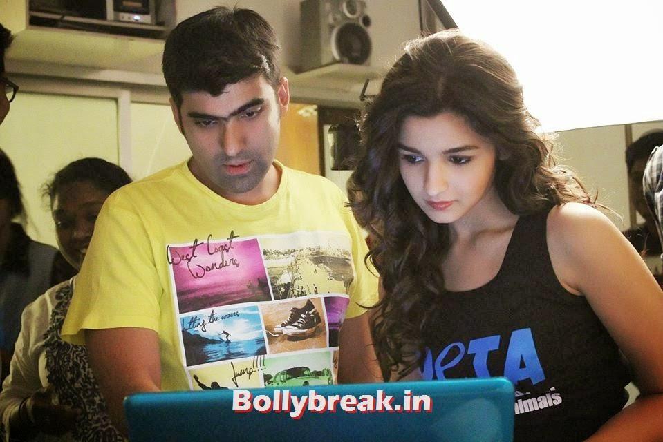 , Alia Bhatt PETA Photoshoot on location Photo