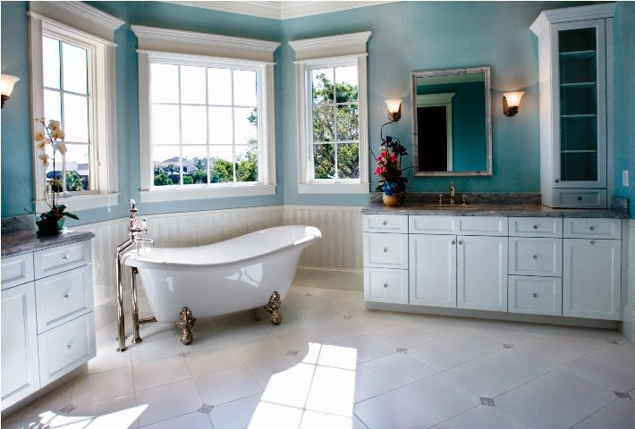 painting ideas for a bathroom wall