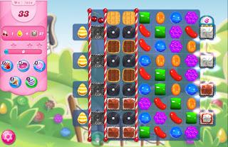 Candy Crush Saga level 7054