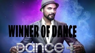 Dance plus 3 Winner Name