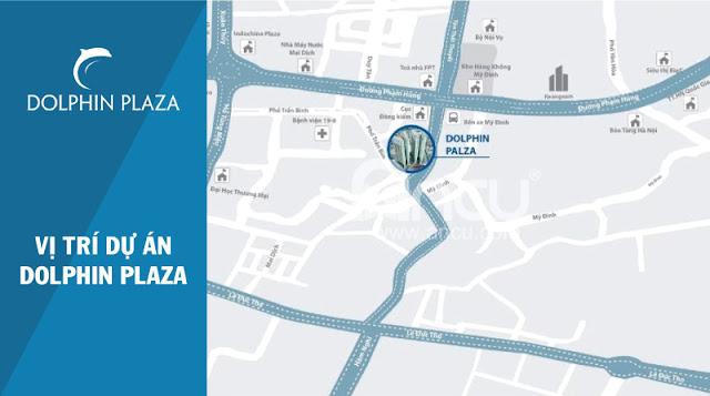 vị trí đắc địa của Dolphin Plaza