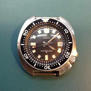 Watch Repair in Kuala Lumpur: Seiko Diver's 6105-8119 for