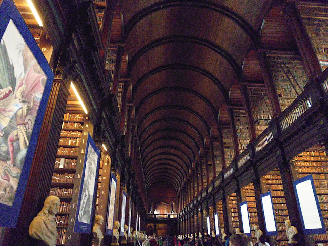 Long Room de la Antigua Biblioteca del Trinity College