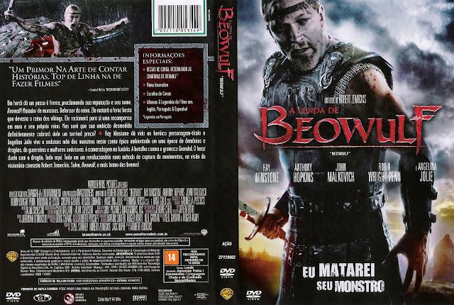 Capa DVD A Lenda de Beowulf