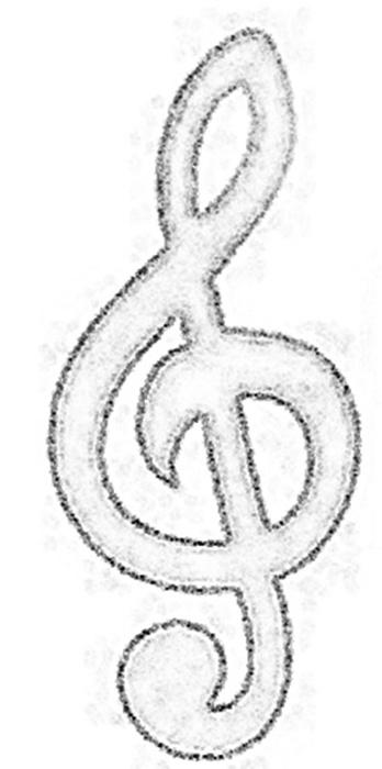 Populares Blog da Tia Jaque: Símbolos Musicais com Moldes XF38