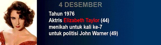 Hari pernikahan Elizabeth Taylor