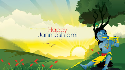 Happy Janmashtami Desktop HD Photo