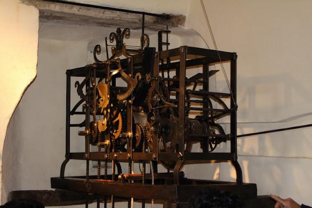 meccanismo orologio settecento funzionante