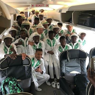 Super Eagles, Officials To Arrive Nigeria Today