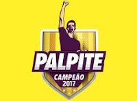 Palpite Campeão 2017 Loja das Torcidas lojadastorcidas.com.br/palpite