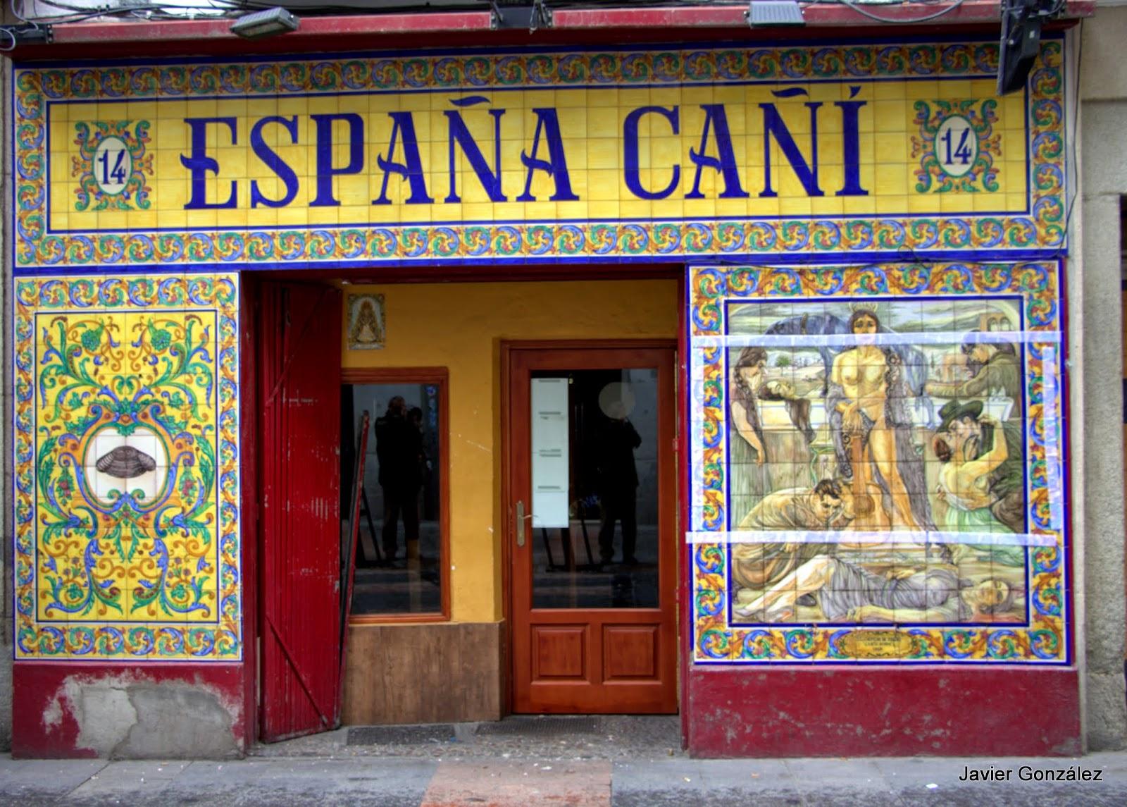 Taberna España cañí. Azulejos
