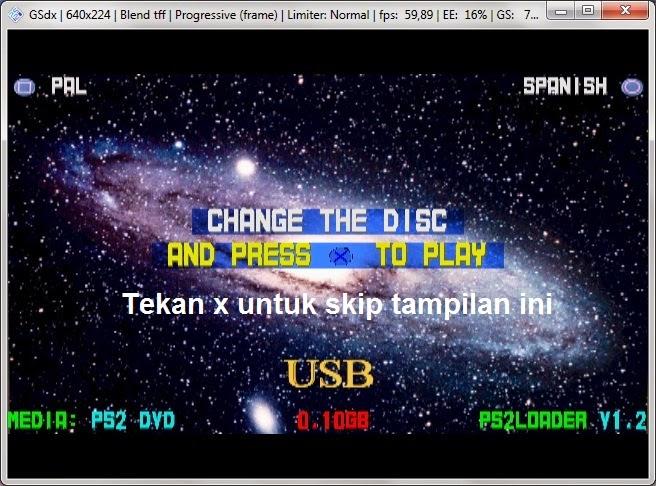 Tutorial mudah menggunakan Action Replay Evo DVD Edition Pada Emulator PCSX2