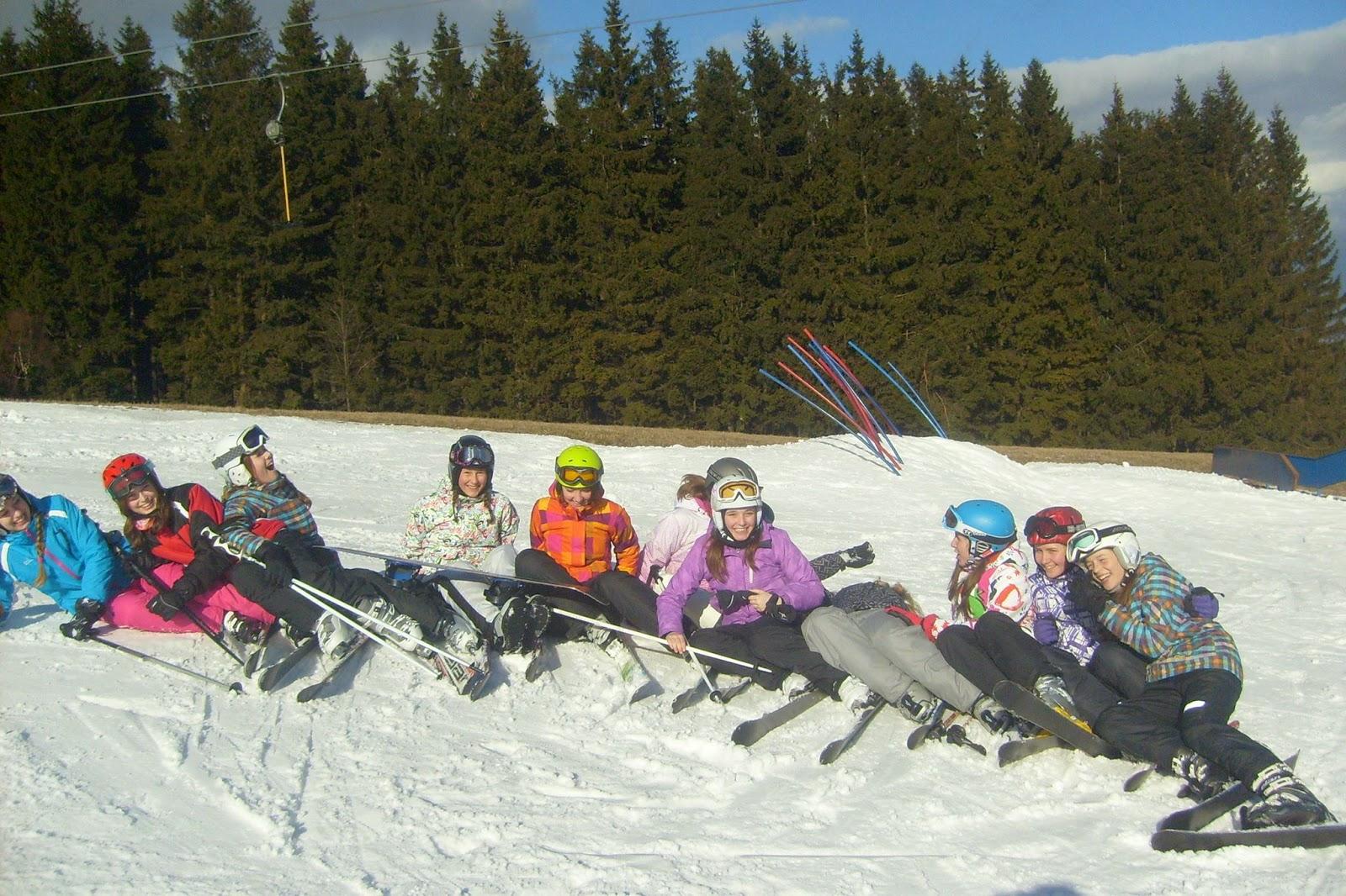 Školní lyžařský kurz