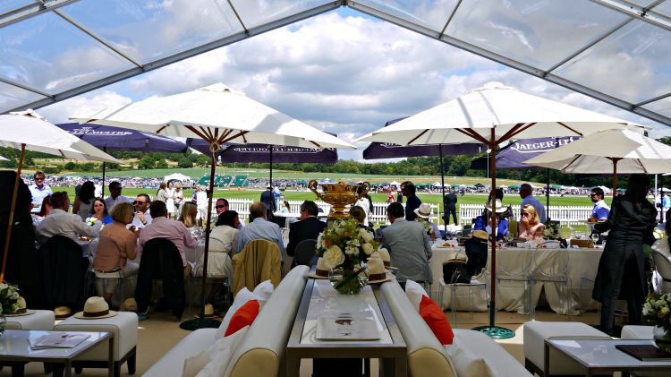 Jaeger-LeCoultre VIP hospitality tent