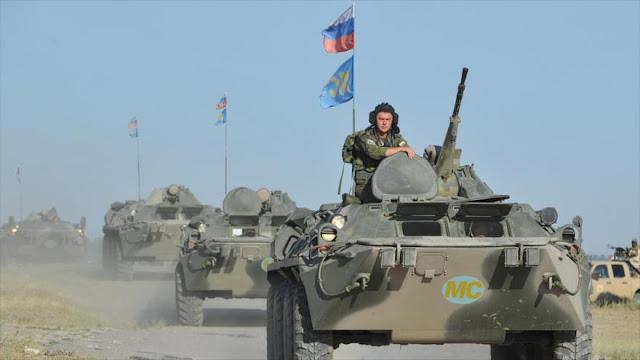 Rusia informa del aumento de sus fuerzas en Asia Central