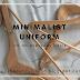 Minimalist uniform on an everyday basis.