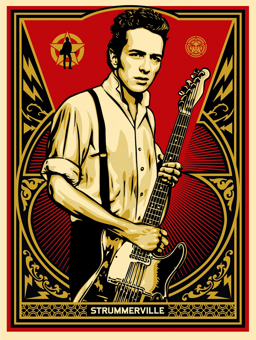 INSIDE THE ROCK POSTER FRAME BLOG: Shepard Fairey ...