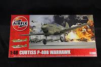 P-40B Warhawk airfix 1/48