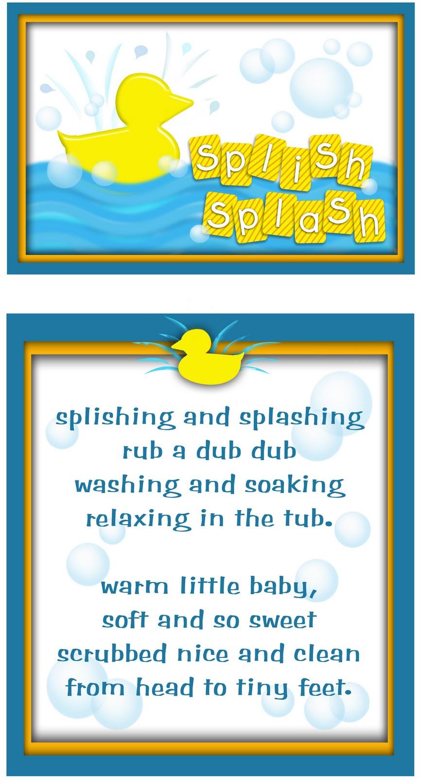 Splish Splash Darling Doodles Darling Doodles