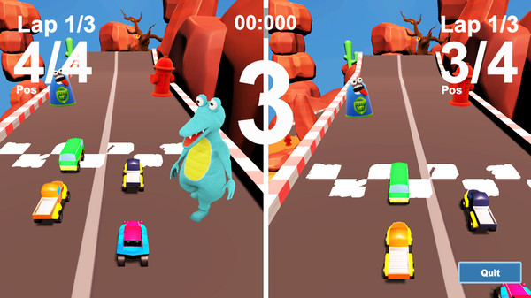 MiniCar Race PC Game