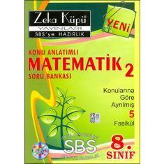 Zeka Küpü 8.Sınıf Matematik-2 Konu Anlatımlı Soru Bankası (Konulara Göre Ayrılmış 5 Fasikül)