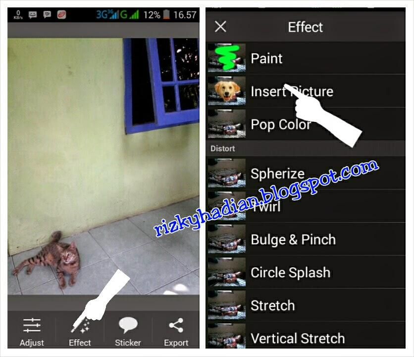 Tutorial Edit Foto Levitasi/Melayang Menggunakan HP Android - 2