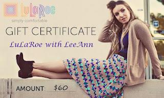 LuLaRoe gift certificate