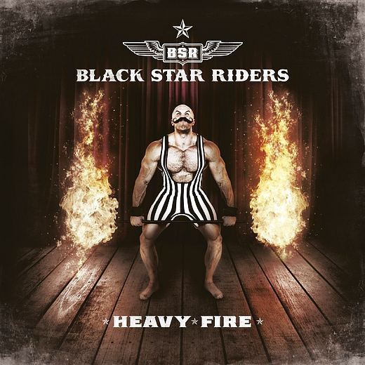 BLACK STAR RIDERS - Heavy Fire [LTD. Embossed Digibook CD +1] (2017) full