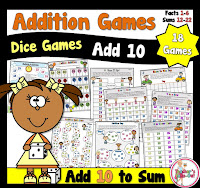 Addition Add 10 Games