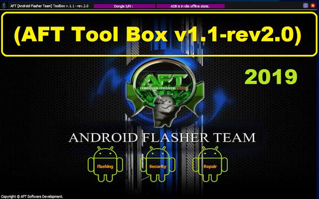 AFT Tool Box v1.1-rev2.0 Crack Tool 100% Working Download Free 2019