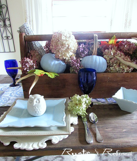 rustic dinner party idea